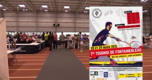 1er Tournoi de Fontainebleau 2015 - Vidéo